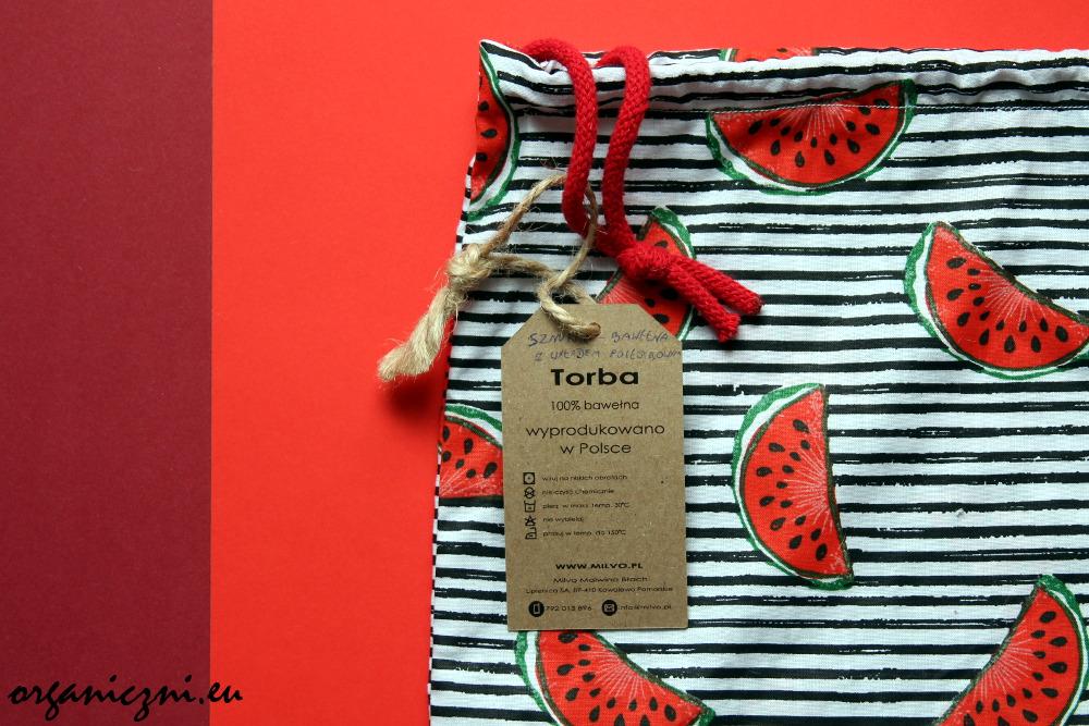 Worek na zakupy Torba Borba organiczni.eu
