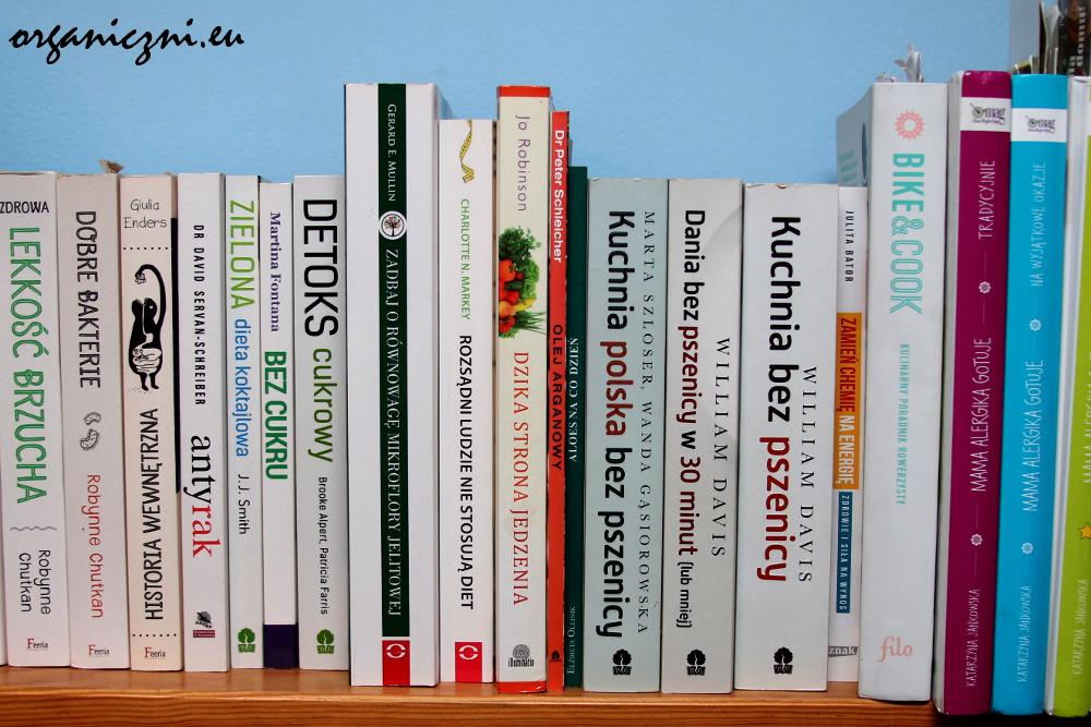 Książki o jedzeniu na mojej półce