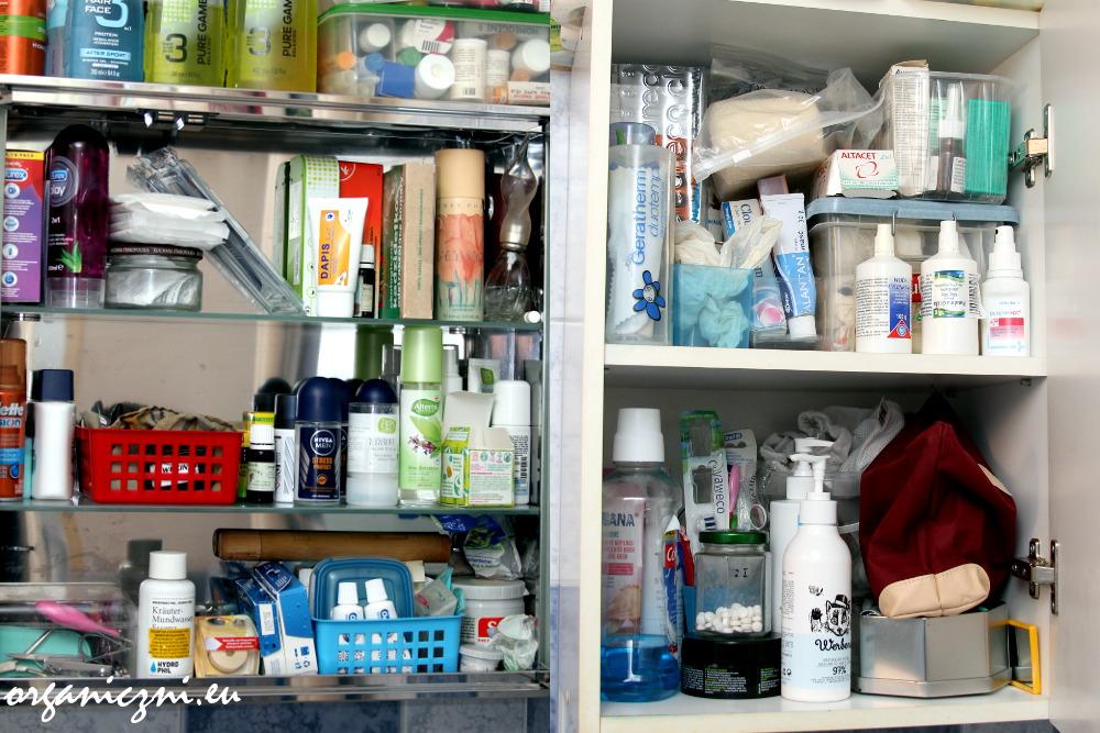Oczopląs, czyli zawartość naszych szafek łazienkowych