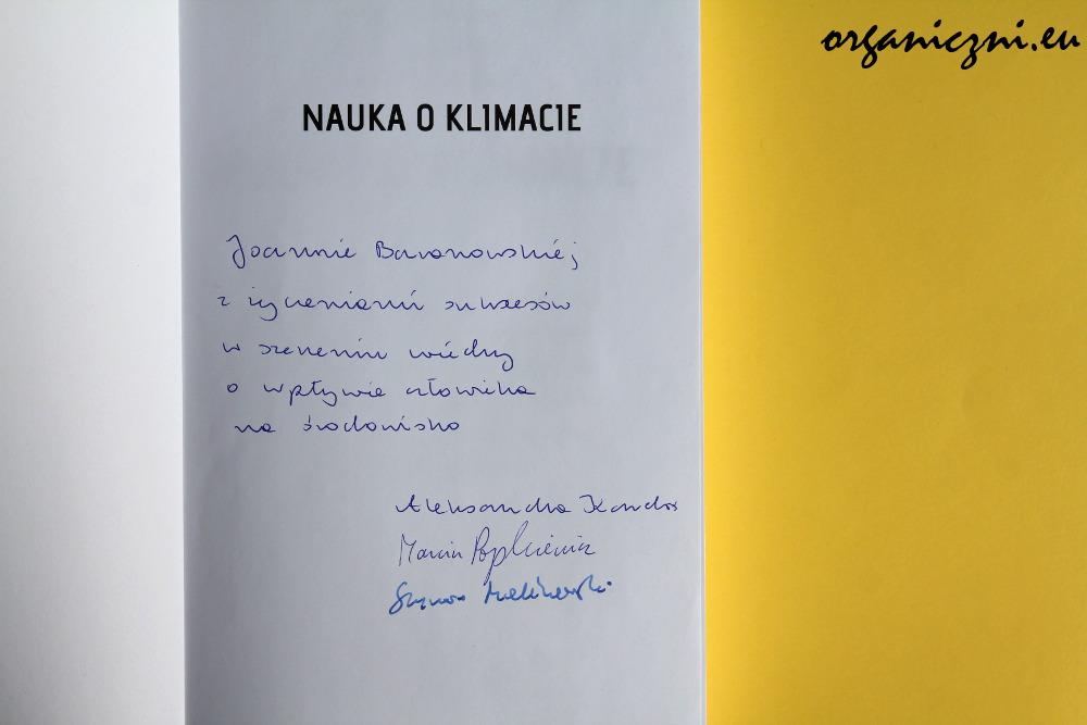 """""""Nauka o klimacie"""" z dedykacją"""