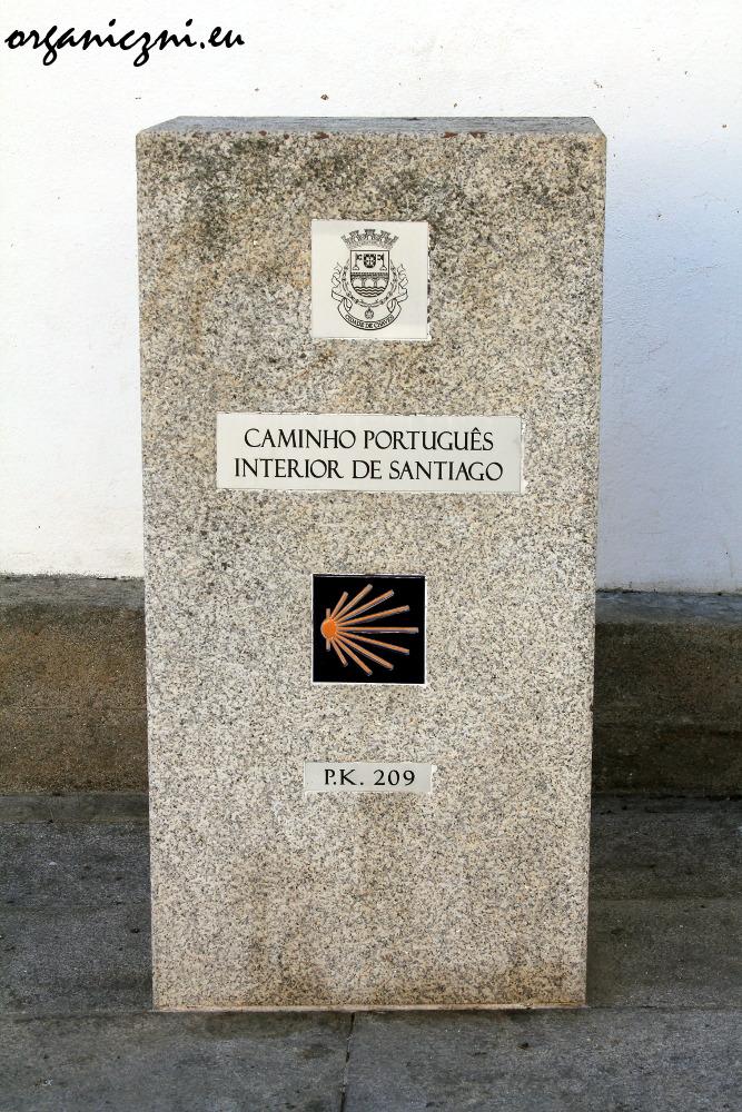 Chaves leży na jednym ze szlaków prowadzących do Santiago de Compostela