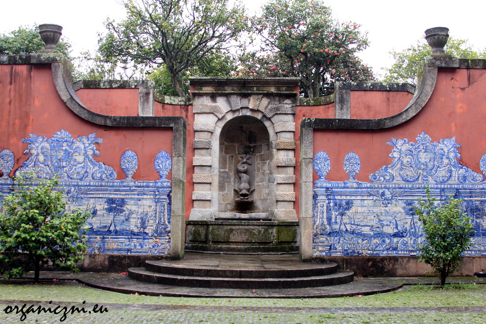 Muzeum Nacional de Soares dos Reis w Porto, dziedziniec