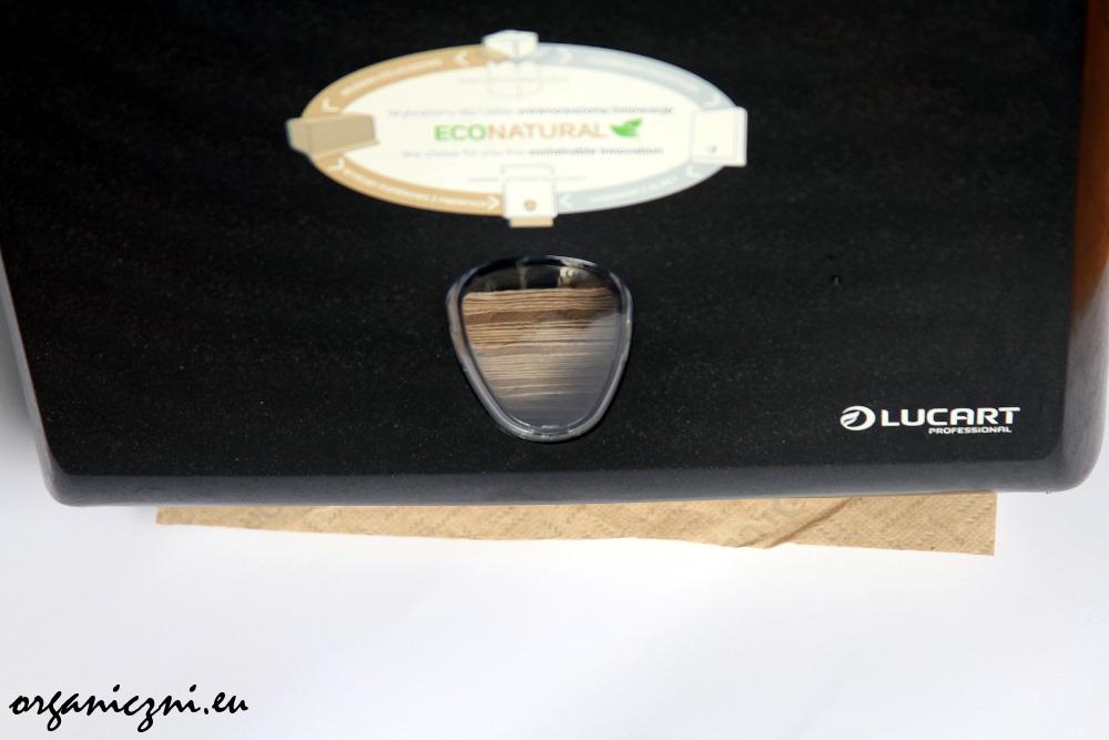 Podajnik ręczników papierowych z tworzywa AlPe, Lucart