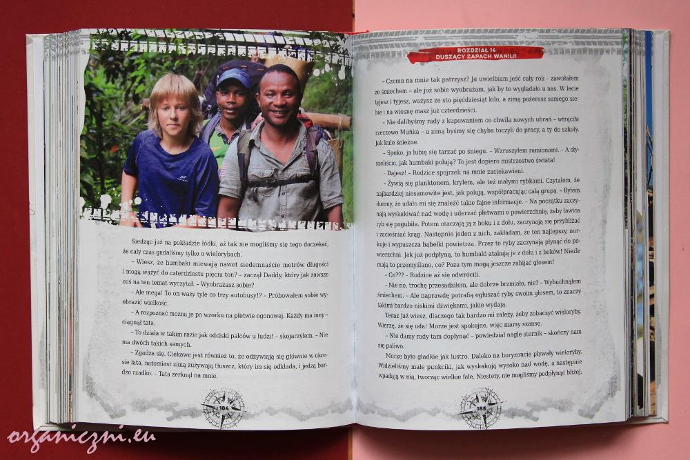 """Książki o ekologii. Szymon Radzimierski, """"Madagaskar. Klątwa pasiastego lemura"""""""