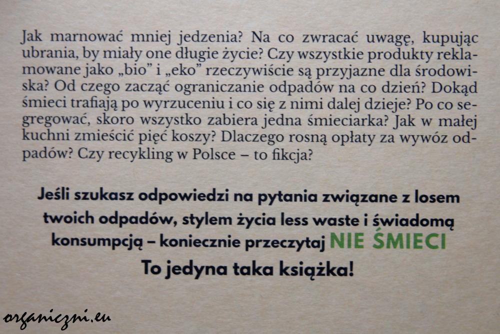 """Julia Wizowska, """"Nie śmieci"""""""