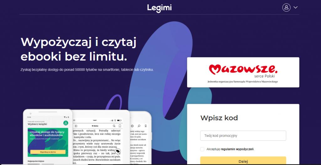 Legimi, program współpracy z bibliotekami z województwa mazowieckiego