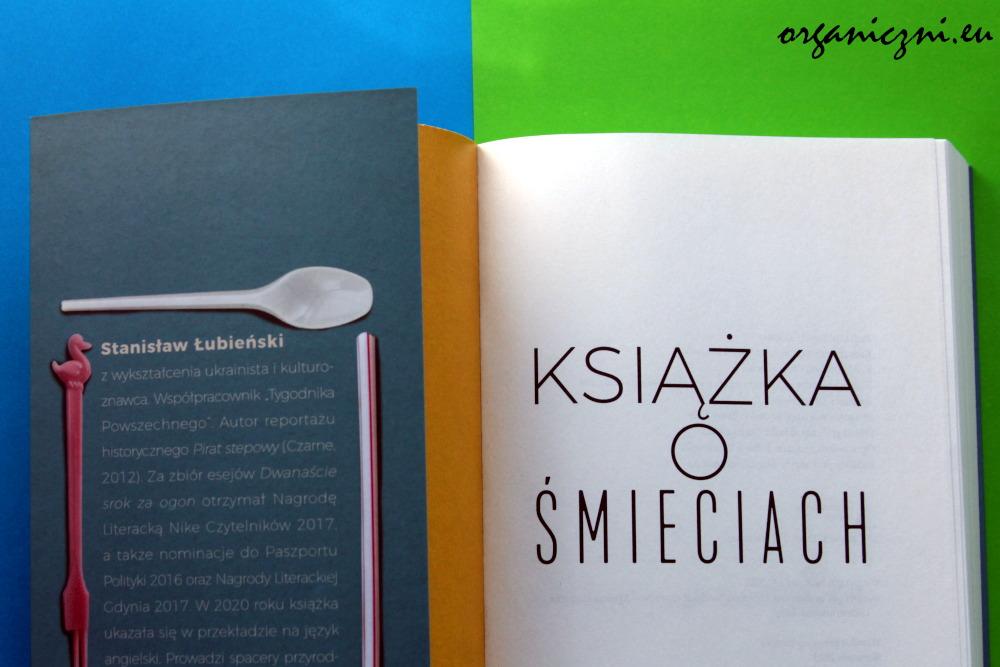 """Stanisław Łubieński, """"Książka o śmieciach"""""""