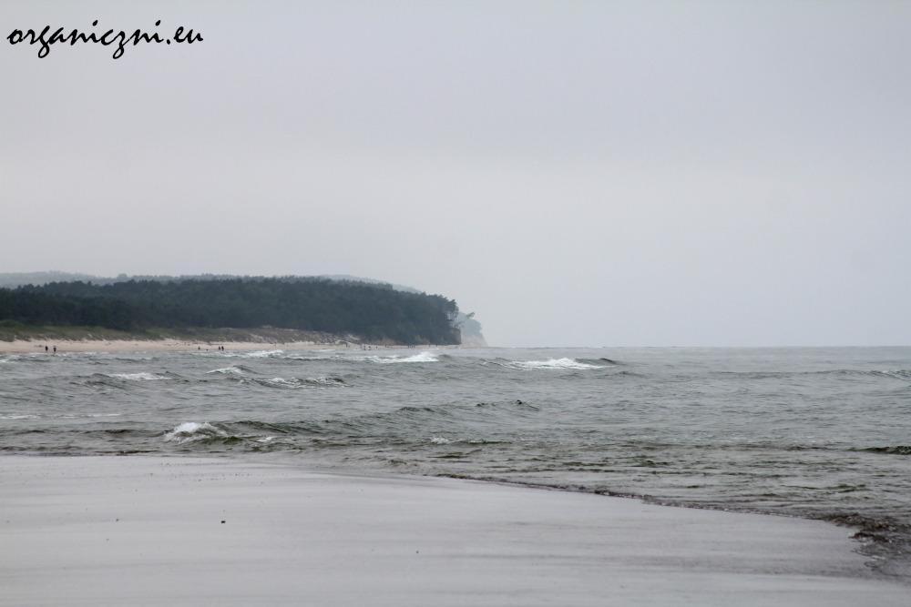 Wolin. widok na plaży w Międzywodziu