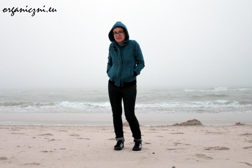 Wolin. Wieczorna plaża w zimnym mleku