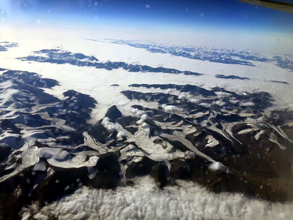 Jesteśmy świadkami bezpowrotnej utraty lodowców. Grenlandia, fot. Ewa Klimont, 2016 r.