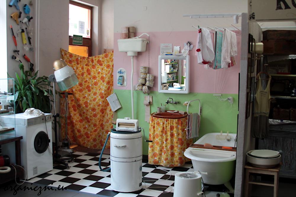 Tak kiedyś wyglądały łazienki...
