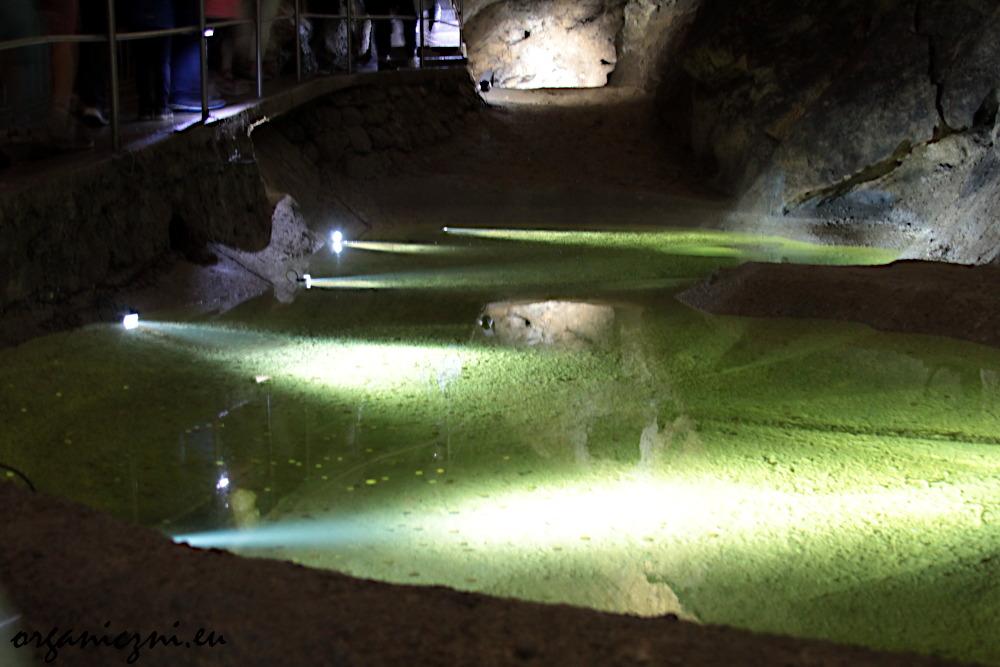 Jaskinia Bielska, Zielone Jeziorko