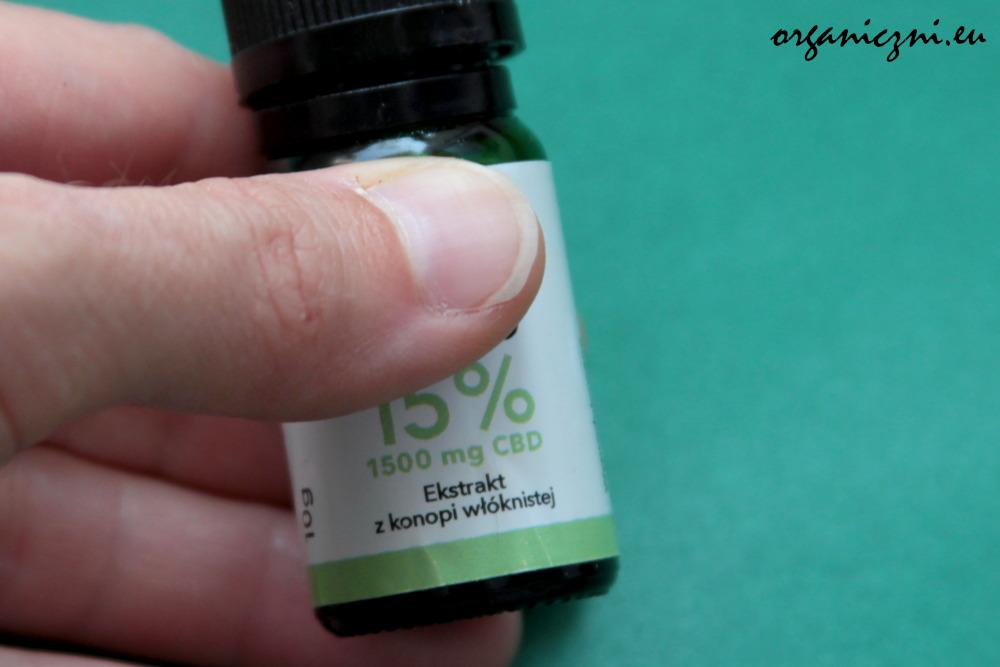 Olej CBD 15%, ekstrakt z konopi włóknistej