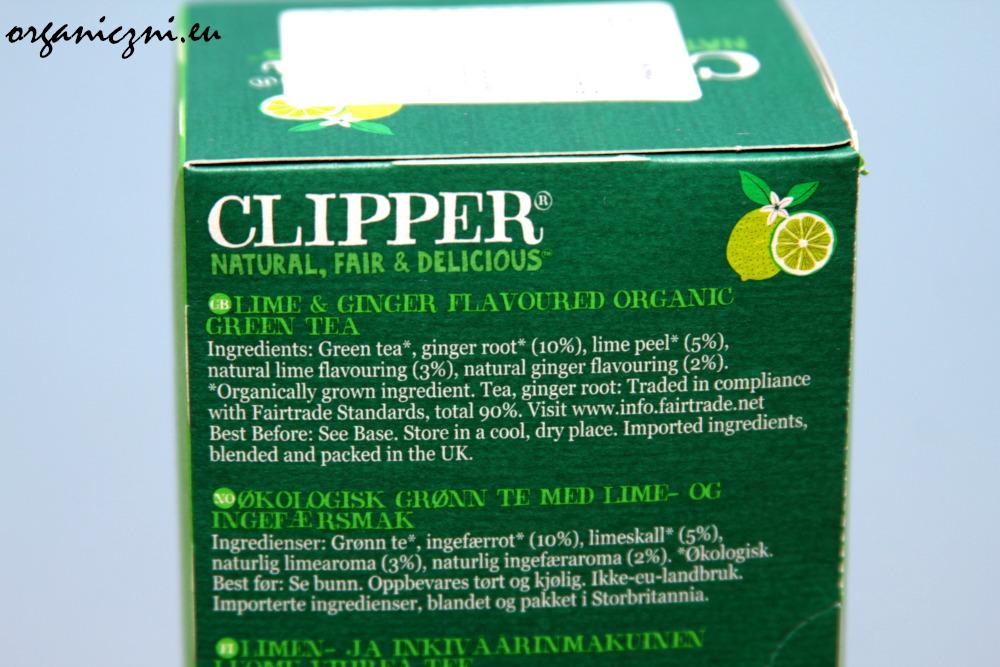 Polubiłam zieloną herbatę z limonką i imbirem
