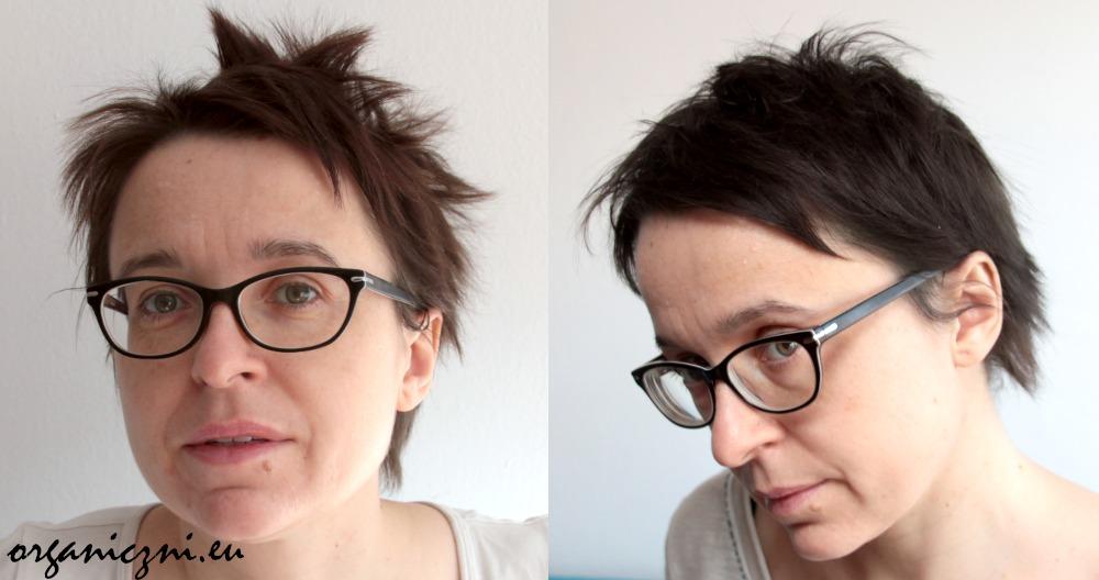 Naturalne farbowanie włosów indygo: przed i po