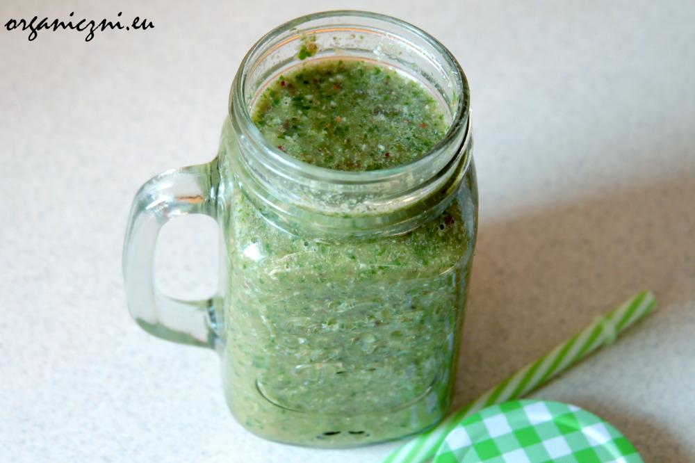 Zielone koktajle są pożywne, smaczne i zdrowe!