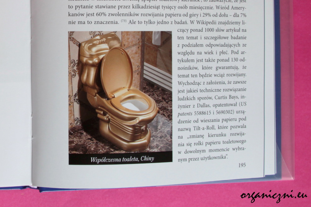 "Ronald H. Blumen, ""Kulturalna historia papieru toaletowego"""