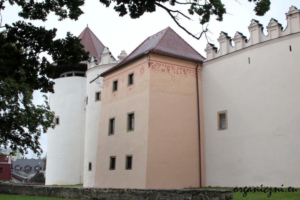 Dzisiejszy wygląd zamku w Kieżmarku